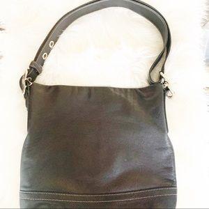 COACH black handbag 👜